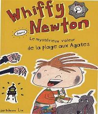 Cover Whiffy Newton dans Le mystérieux voleur de la plage aux Agates