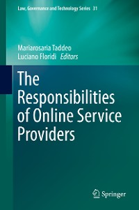 Cover The Responsibilities of Online Service Providers