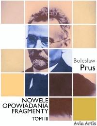 Cover Nowele opowiadania fragmenty. Tom 3