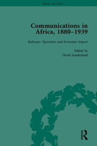 Cover Communications in Africa, 1880 - 1939, Volume 4
