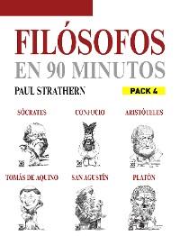 Cover En 90 minutos - Pack Filósofos 4