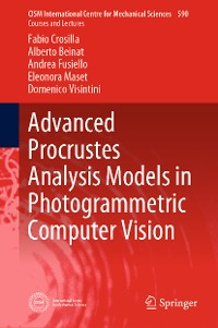 Cover Advanced Procrustes Analysis Models in Photogrammetric Computer Vision