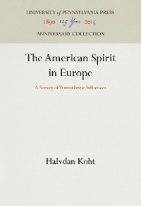 Cover The American Spirit in Europe