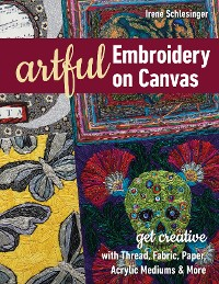 Cover Artful Embroidery on Canvas