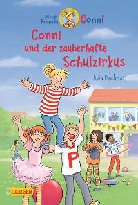 Cover Conni-Erzählbände 37: Conni und der zauberhafte Schulzirkus