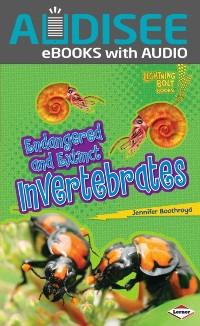 Cover Endangered and Extinct Invertebrates