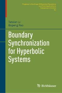 Cover Boundary Synchronization for Hyperbolic Systems