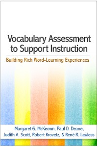 Cover Vocabulary Assessment to Support Instruction
