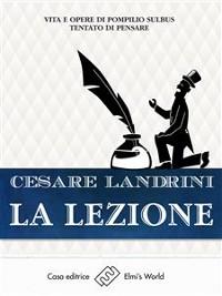 Cover La lezione