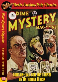 Cover Dime Mystery Magazine - Curtain-Call for