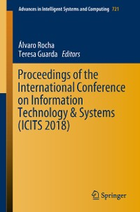 Cover Proceedings of the International Conference on Information Technology & Systems (ICITS 2018)