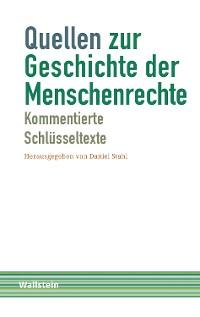 Cover Quellen zur Geschichte der Menschenrechte