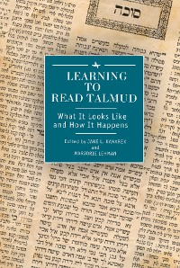 Cover Learning to Read Talmud