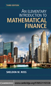 Cover Elementary Introduction to Mathematical Finance