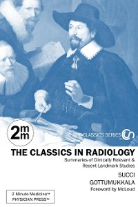 Cover 2 Minute Medicine's The Classics in Radiology