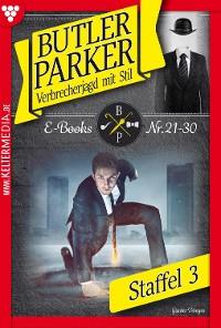 Cover Butler Parker Staffel 3 – Kriminalroman