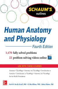 Cover Schaum's Outline of Human Anatomy and Physiology