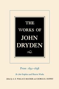 Cover The Works of John Dryden, Volume XX