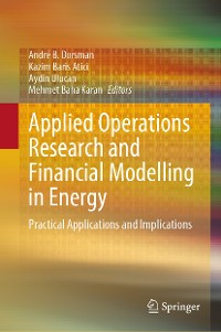 Cover Applied Operations Research and Financial Modelling in Energy