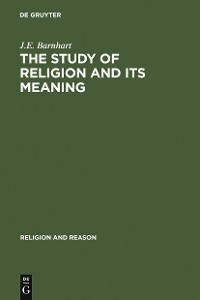 Cover The Study of Religion and its Meaning