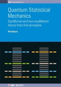 Cover Quantum Statistical Mechanics
