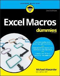 Cover Excel Macros For Dummies