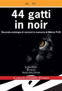 Cover 44 gatti in noir