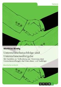 Cover Unternehmensnachfolge und Unternehmensübergabe
