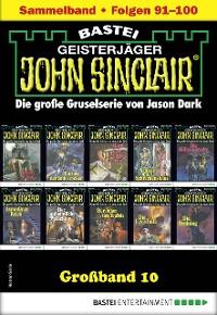 Cover John Sinclair Großband 10 - Horror-Serie