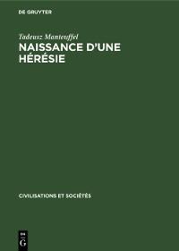 Cover Naissance d'une hérésie