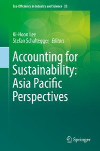 Cover Accounting for Sustainability: Asia Pacific Perspectives