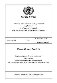 Cover Treaty Series 3014/Recueil des Traités 3014