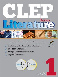 Cover CLEP Literature Series 2017