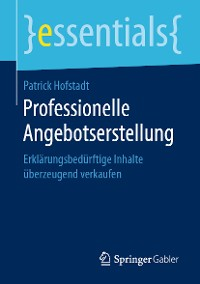 Cover Professionelle Angebotserstellung