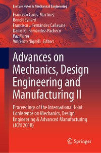 Cover Advances on Mechanics, Design Engineering and Manufacturing II