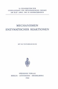 Cover Mechanismen Enzymatischer Reaktionen