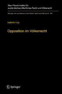 Cover Opposition im Völkerrecht