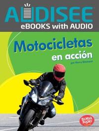 Cover Motocicletas en accion (Motorcycles on the Go)