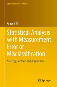 Cover Statistical Analysis with Measurement Error or Misclassification