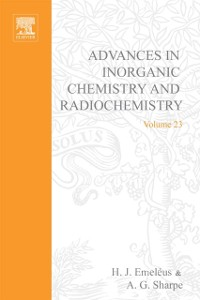 Cover Advances in Inorganic Chemistry and Radiochemistry