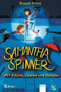 Cover Samantha Spinner (1). Mit Schirm, Charme und Karacho
