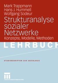 Cover Strukturanalyse sozialer Netzwerke