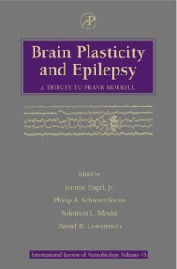 Cover Brain Plasticity and Epilepsy: A Tribute to Frank Morrell