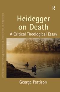 Cover Heidegger on Death
