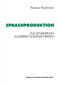 Cover Sprachproduktion