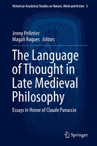 Cover The Language of Thought in Late Medieval Philosophy