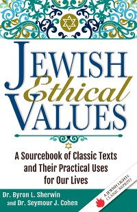 Cover Jewish Ethical Values
