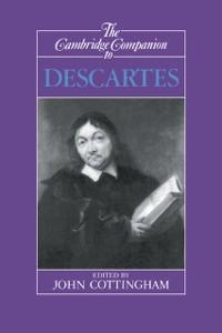 Cover Cambridge Companion to Descartes