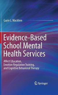 Cover Evidence-Based School Mental Health Services