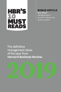 Cover HBR's 10 Must Reads 2019